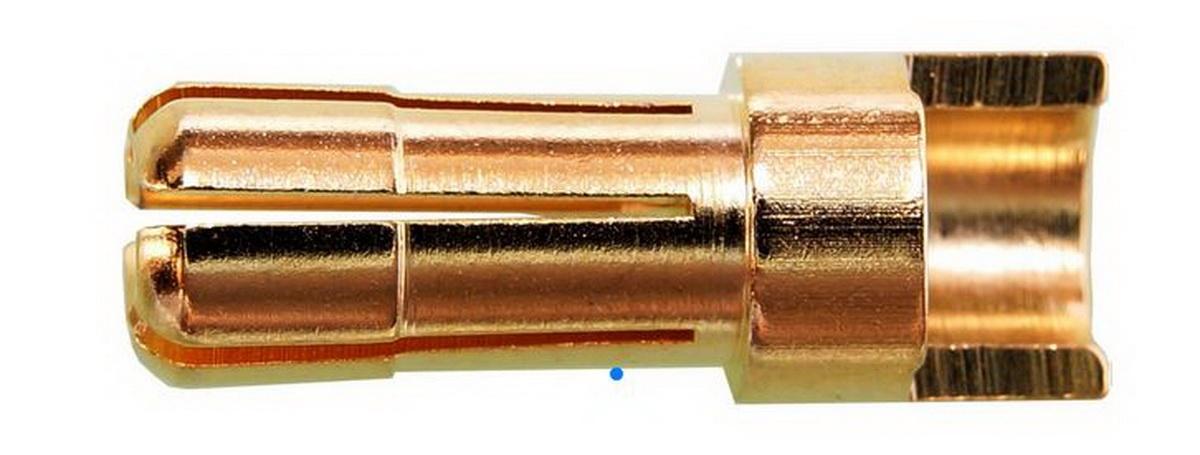 Goldkontakte 5mm Stecker