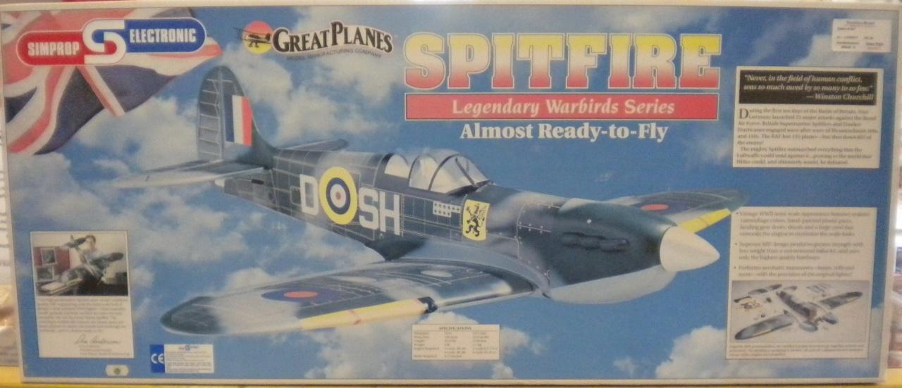 Spitfire 40 ARF