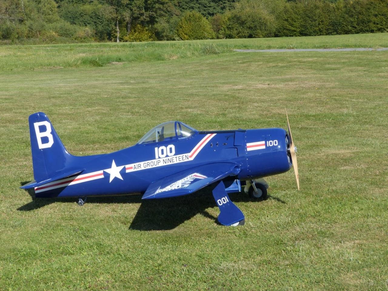 Grumman F8F Bear Cat Semi-Scale M 1:5 2220 mm
