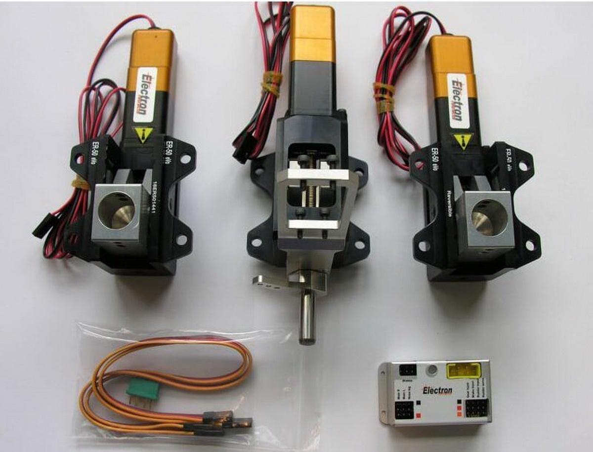Einziehfahrwerk ER-50 eVo 3-Bein Elektronik GS-200