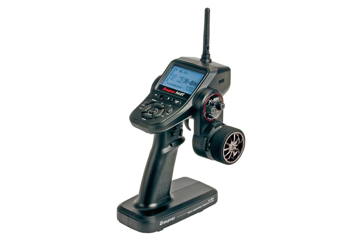 X-8N Colt Sender - HoTT 2.4GHz Fernsteuerung 4 Kanäle