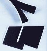 Klettband 25 x 500 mm schwarz