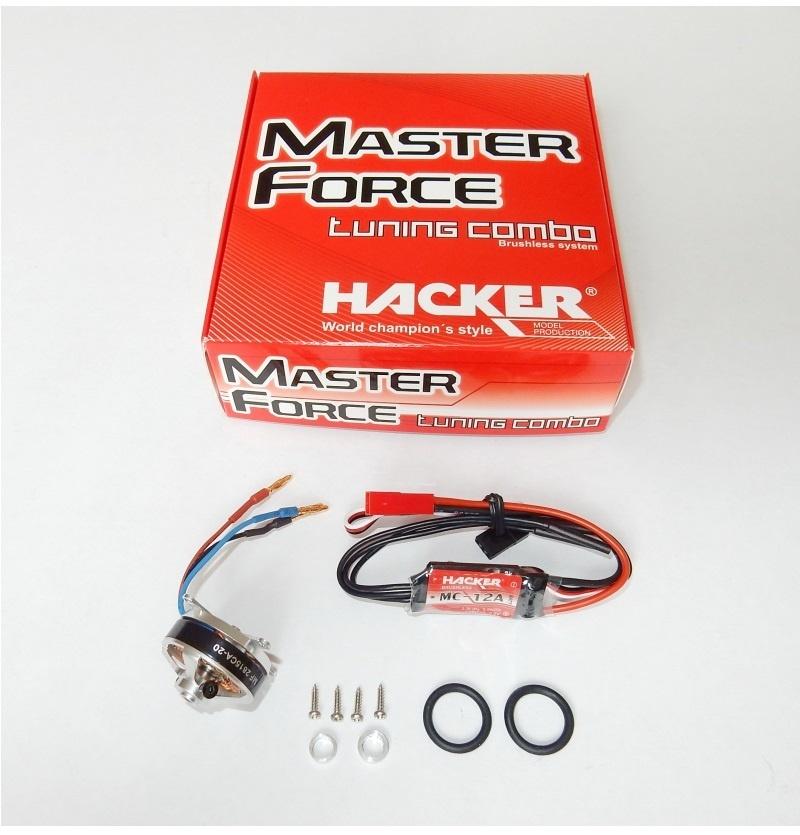 Hacker Brushless Set Master Force 2815CA-20 KV1800 & MC-12A