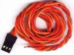 Servo Anschlusskabel JR 0,30qmm/ 30 cm vergoldet