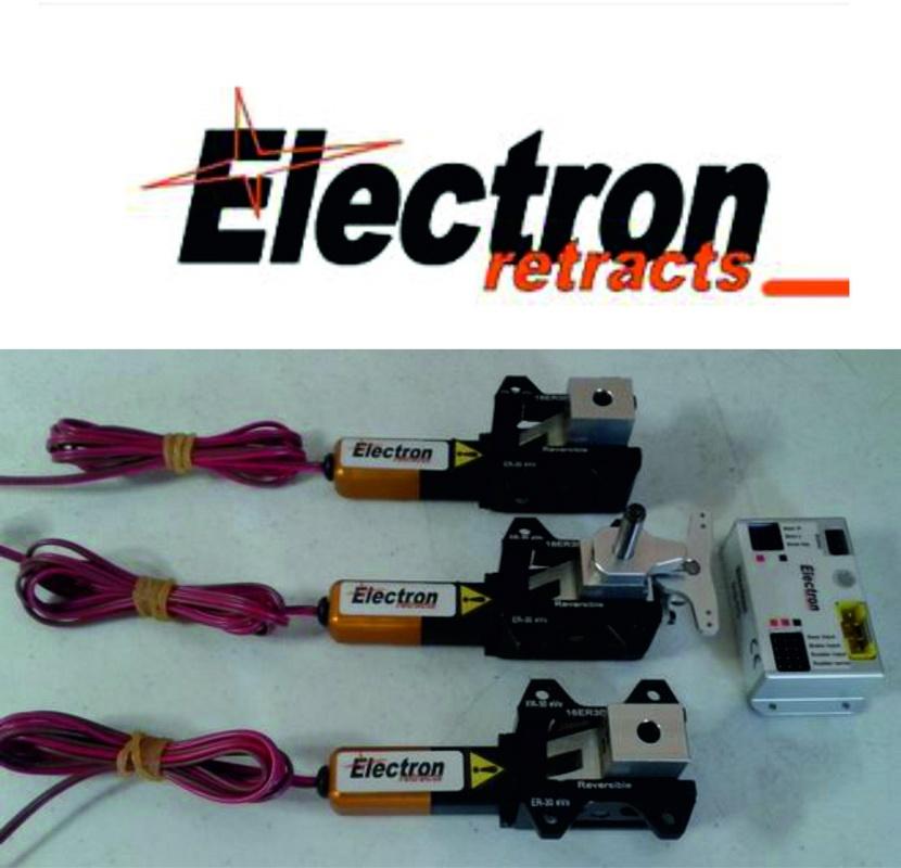 Einziehfahrwerke Electron elektrisch