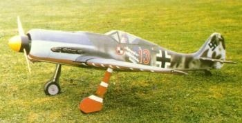 FW 190 D 9 Semi-Scale Spw. 1902mm M 1:6,5