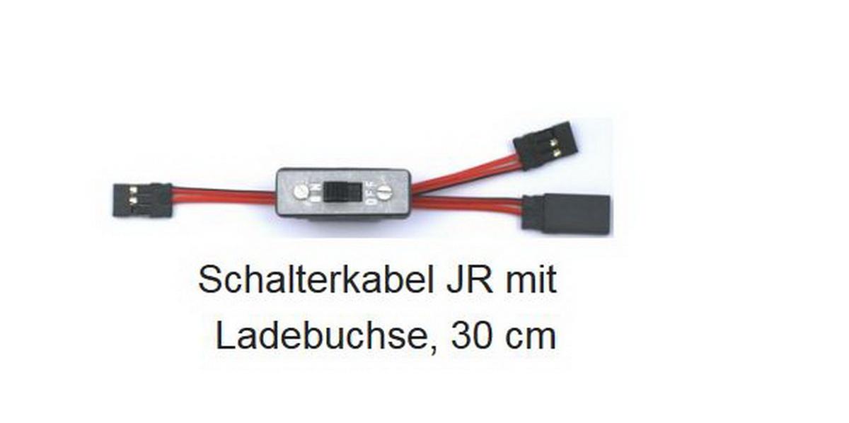 Schalterkabel m. Ladebuchse JR