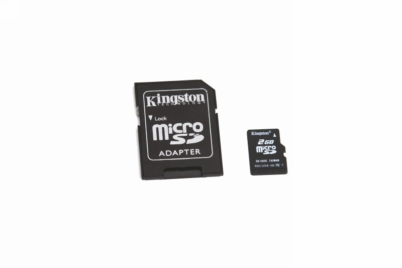 Micro-SD Karte 2 GB für HoTT-Sender