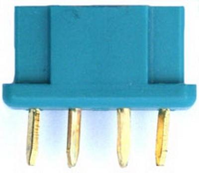 Hochstrombuchse bis 50 A vergoldet Original MPX