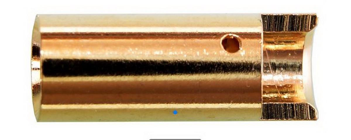 Goldkontakte 5mm Buchse