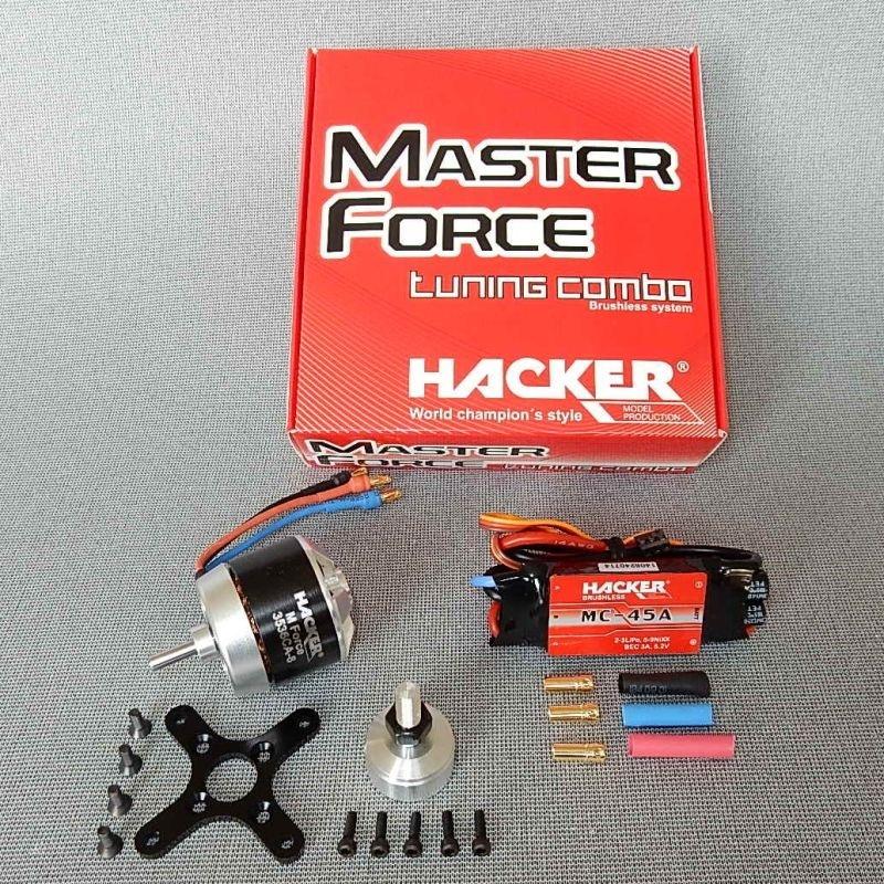 Hacker Brushless Set Master Force 3536CA-8 KV 990 & MC45A