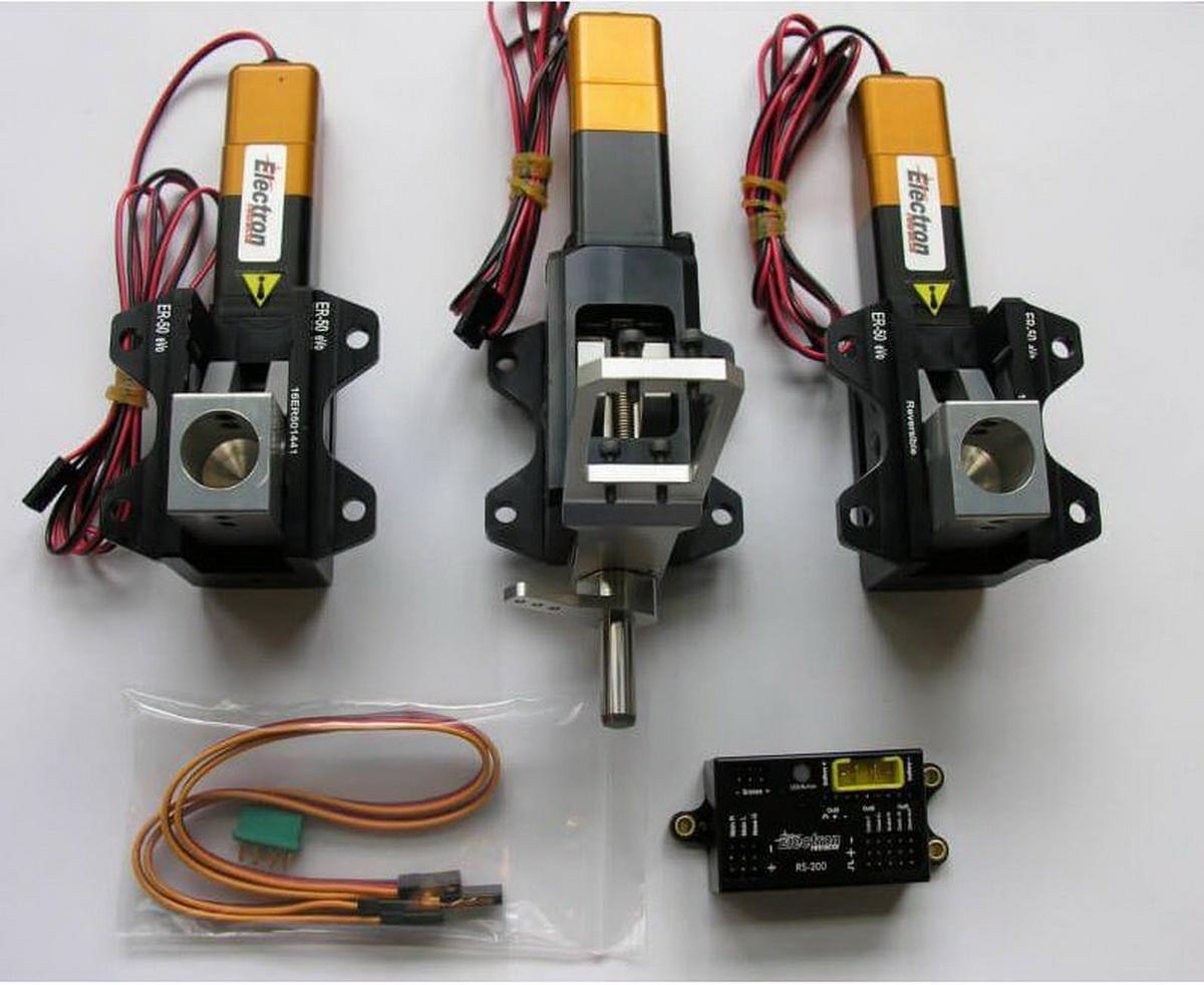 Einziehfahrwerk ER-50 eVo 3-Bein Elektronik RS-200