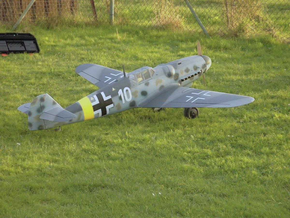 Me 109 G 6 M 1:5 Spw.1985mm Semi-Scale