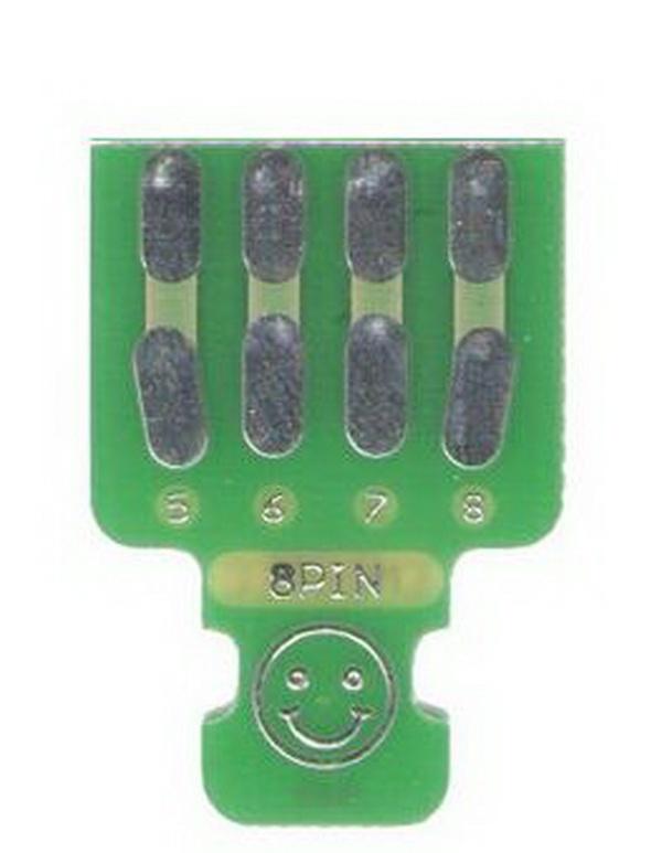 Platine für 8-Pin Servosteckverbinder